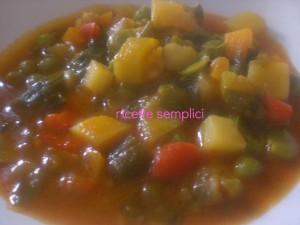 minestrone fatto in casa