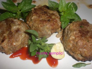 polpette all'aglio
