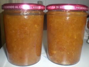 marmellata di pere e zenzero