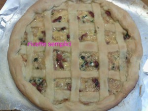 crostata salata cotta
